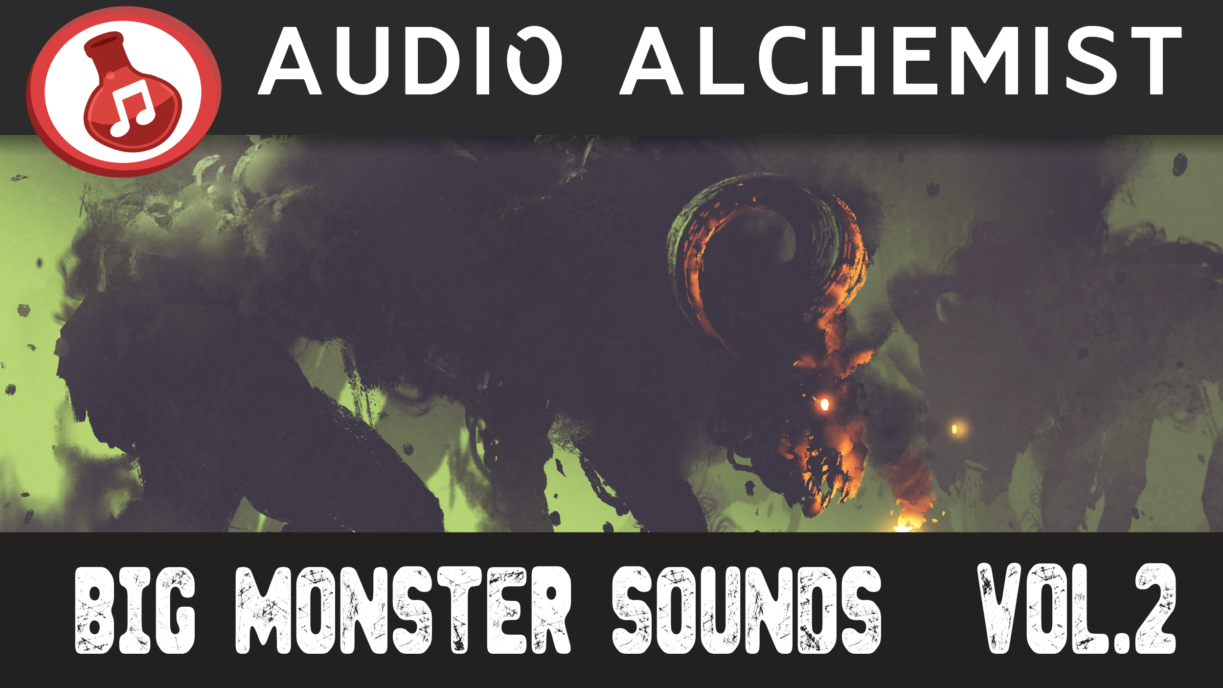 Big Monster Voices Pack Volume 2