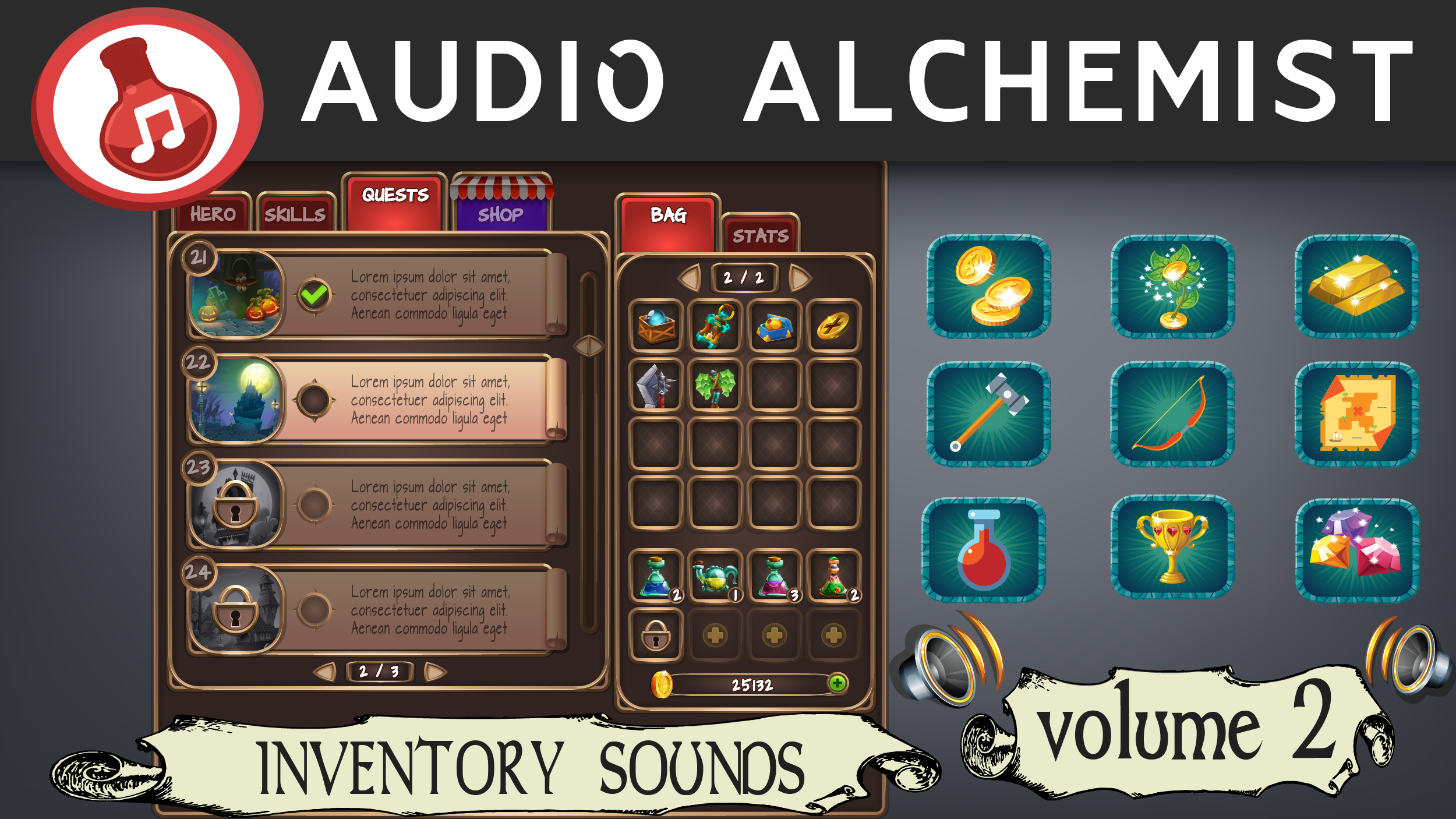 Inventory Sounds - Volume 2