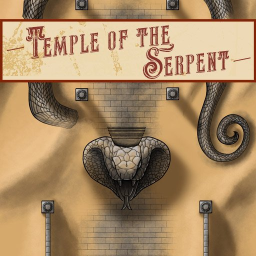 Temple of the Serpent Battle Map