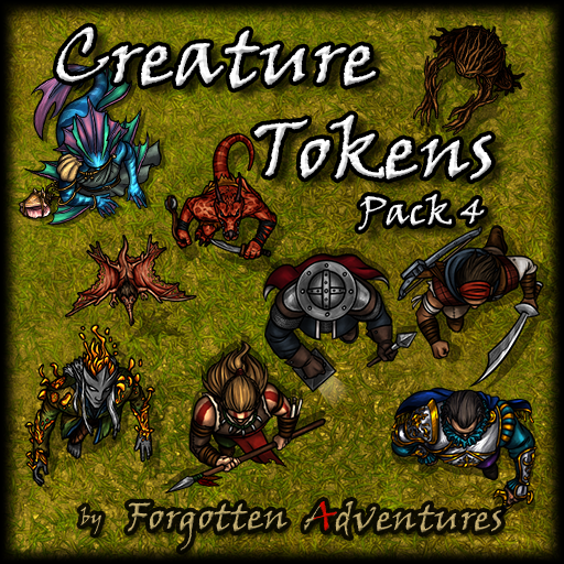 Creature Tokens - Pack 4