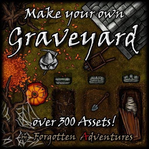 Make your own Graveyards, Asset Pack