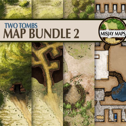 Map Bundle 2 - Two Tombs
