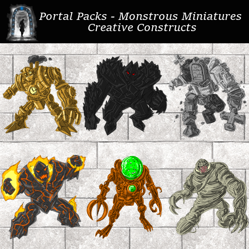 Portal Packs - Monstrous Miniatures - Creative Constructs