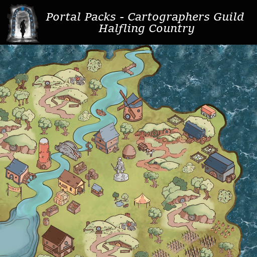 Portal Packs - Cartographers Guild - Halfling Country