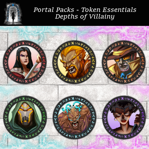 Portal Packs - Token Essentials - Depths of Villainy