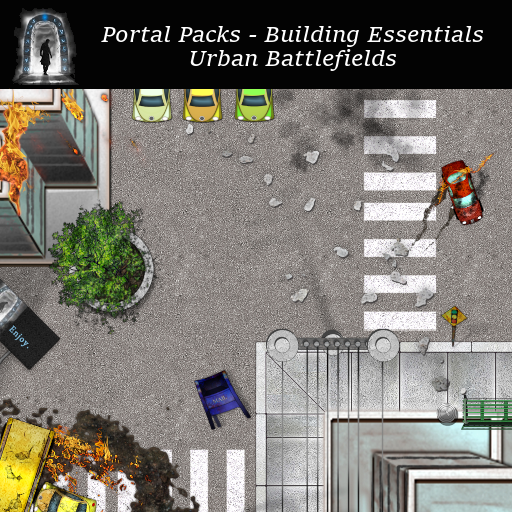Portal Packs - Building Essentials - Urban Battlefields