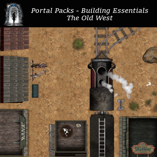 Portal Packs - Building Essentials - The Old West