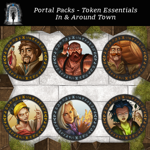 Portal Packs - Token Essentials - In & Around Town