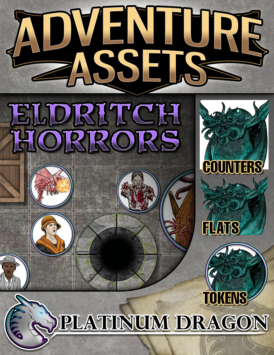 Adventure Assets - Eldritch Horrors