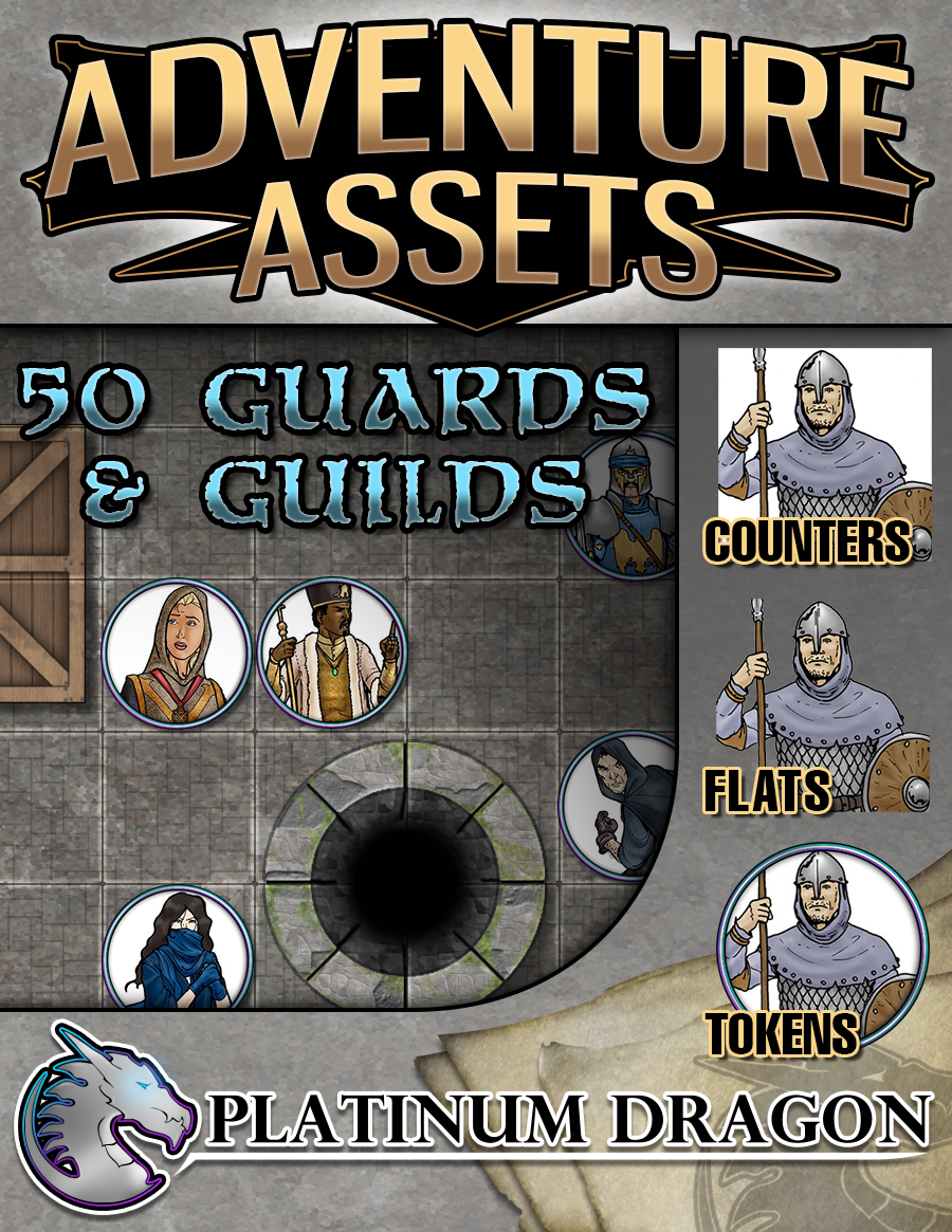 Adventure Assets - Guards and Guilds