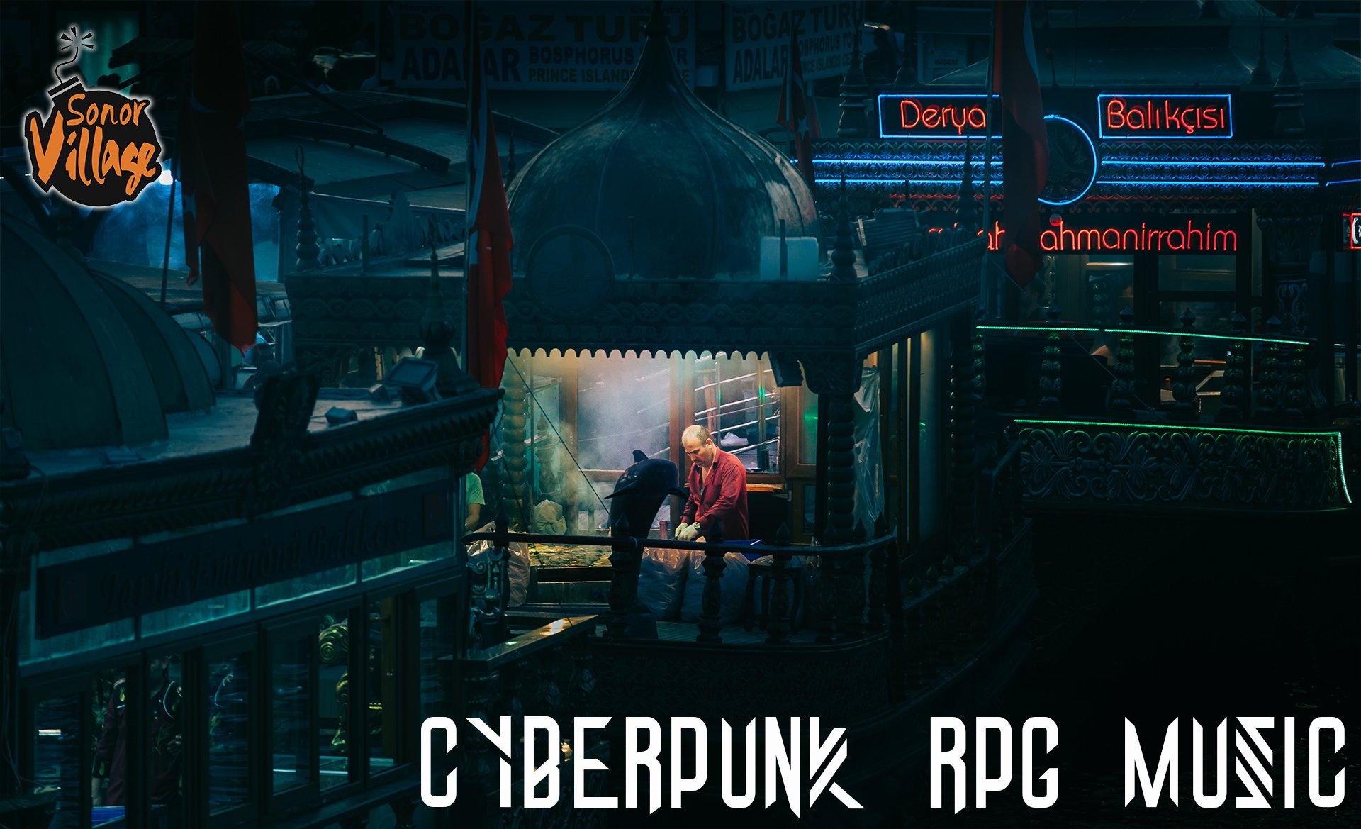 Cyberpunk RPG Music