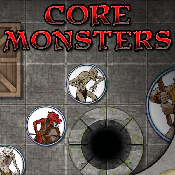 Core Monster Tokens (by Platinum Dragon)