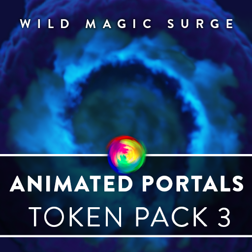 Animated Portals Tokens